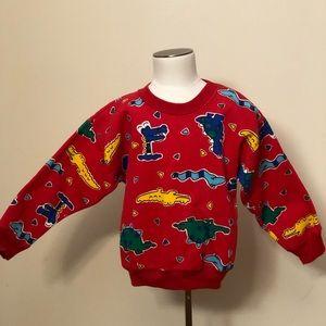 Other - Vintage Dinosaur print Sweatshirt